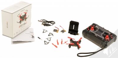 Forever Pixel Drone miniaturní létající dron černá (black) balení