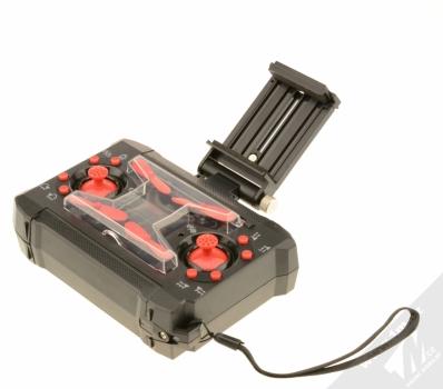 Forever Pixel Drone miniaturní létající dron černá (black) krabička s držákem