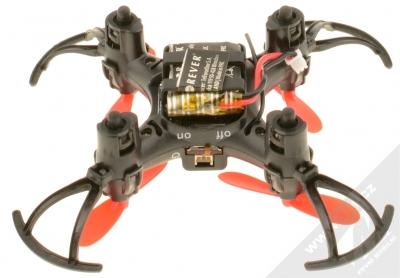 Forever Pixel Drone miniaturní létající dron černá (black) zespodu konektor