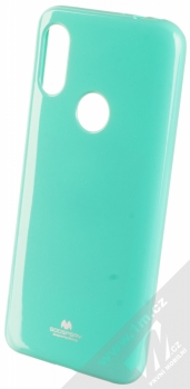 Goospery Jelly Case TPU ochranný silikonový kryt pro Xiaomi Redmi 7 mátově zelená (mint green)