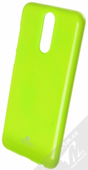 Goospery Jelly Case TPU ochranný silikonový kryt pro Huawei Mate 10 Lite limetkově zelená (lime green)