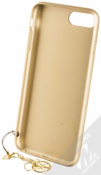 Guess Charms 4G ochranný kryt pro Apple iPhone 6 Plus, iPhone 6S Plus, iPhone 7 Plus, iPhone 8 Plus (GUHCI8LGF4GGR) šedá zlatá (grey gold) zepředu