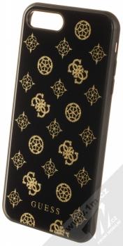 Guess Layer Glitter Peony ochranný kryt pro Apple iPhone 7 Plus, iPhone 8 Plus (GUHCI8LTGGPBK) černá (black)