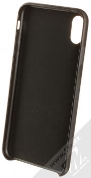 Guess Triangle ochranný kryt pro Apple iPhone XS Max (GUHCI65PTPUBK) černá (black) zepředu