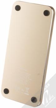 Guess Wireless Charging Base podložka bezdrátového nabíjení bílá zlatá (white gold) zezdola