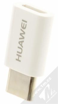 Huawei AP52 originální miniaturní redukce z USB Type-C na microUSB bílá (white)