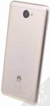 HUAWEI Y7 šedá (gray) šikmo zezadu