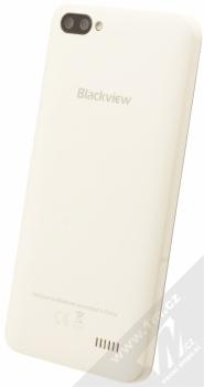 iGET BLACKVIEW GA7 bílá (cream white) šikmo zezadu