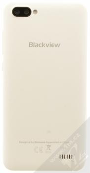 iGET BLACKVIEW GA7 bílá (cream white) zezadu