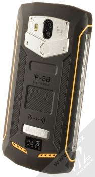 iGET Blackview GBV5800 žlutá (yellow) šikmo zezadu
