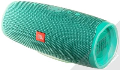JBL CHARGE 4 voděodolný výkonný Bluetooth reproduktor a záložní zdroj modrozelená (teal)