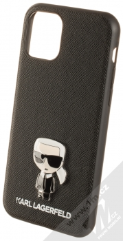 Karl Lagerfeld Saffiano Ikonik ochranný kryt pro Apple iPhone 11 Pro (KLHCN58IKFBMBK) černá (black)