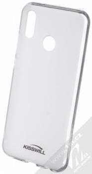 Kisswill TPU Open Face silikonové pouzdro pro Asus ZenFone 5Z (ZS620KL) bílá průhledná (white)