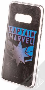 Marvel Kapitánka Marvel 015 TPU ochranný kryt pro Samsung Galaxy S10e černá (black)