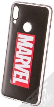 Marvel Logo 001 TPU ochranný silikonový kryt s motivem pro Huawei P Smart (2019) černá (black)