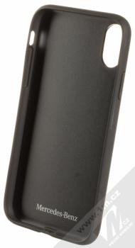 Mercedes Bow II ochranný kryt pro Apple iPhone X (MEHCPXPCSBK) černá (black) zepředu