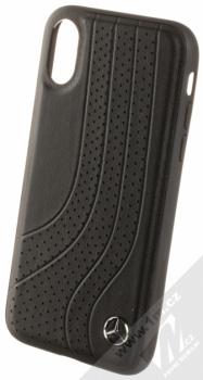 Mercedes Bow II ochranný kryt pro Apple iPhone X (MEHCPXPCSBK) černá (black)