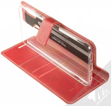 Molan Cano Issue Diary flipové pouzdro pro Honor 8X červená (red) stojánek