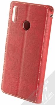 Molan Cano Issue Diary flipové pouzdro pro Honor 8X červená (red) zezadu