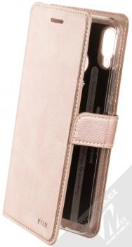 Molan Cano Issue Diary flipové pouzdro pro Huawei Nova 3 růžově zlatá (rose gold)