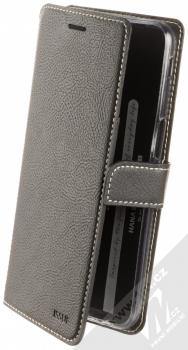 Molan Cano Issue Diary flipové pouzdro pro Samsung Galaxy J6 Plus (2018) černá (black)