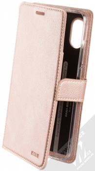 Molan Cano Issue Diary flipové pouzdro pro Xiaomi Redmi Note 6 Pro růžově zlatá (rose gold)