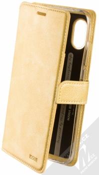 Molan Cano Issue Diary flipové pouzdro pro Xiaomi Redmi Note 6 Pro zlatá (gold)