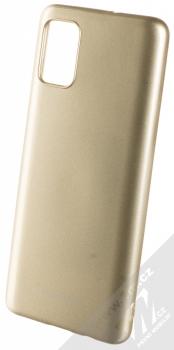 Molan Cano Jelly Case TPU ochranný kryt pro Samsung Galaxy A51 zlatá (gold)