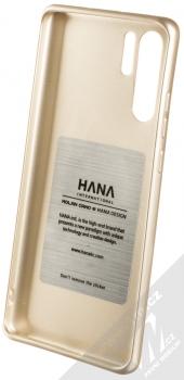Molan Cano Jelly Case TPU ochranný kryt pro Huawei P30 Pro zlatá (gold) zepředu