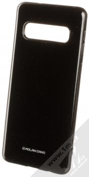 Molan Cano Jelly Case TPU ochranný kryt pro Samsung Galaxy S10 černá (black)