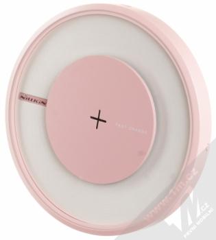 Nillkin Magic Disk 4 základna rychlého bezdrátového Qi nabíjení pro mobilní telefon, mobil, smartphone růžová (pink) seshora