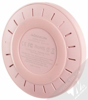 Nillkin Magic Disk 4 základna rychlého bezdrátového Qi nabíjení pro mobilní telefon, mobil, smartphone růžová (pink) zezdola