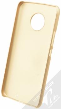 Nillkin Super Frosted Shield ochranný kryt pro Moto X4 zlatá (gold) zepředu