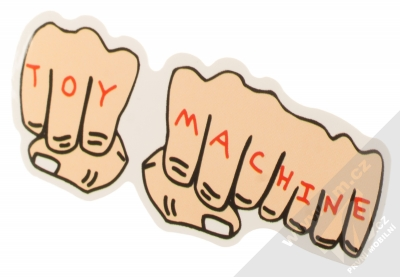 Samolepka Toy Machine Pěsti 1