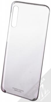 Samsung EF-AA505CB Gradation Cover originální ochranný kryt pro Samsung Galaxy A50 černá průhledná (black transparent)