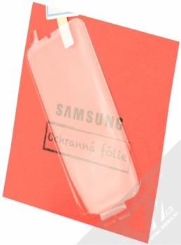 Samsung EP-WG95FBB Starter Kit originální sada stojánku pro bezdrátové nabíjení, ochranného krytu a fólie pro Samsung Galaxy S8 Plus černá černá (black black) ochranná fólie