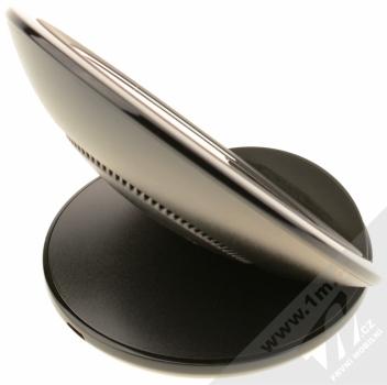 Samsung EP-WG95FBB Starter Kit originální sada stojánku pro bezdrátové nabíjení, ochranného krytu a fólie pro Samsung Galaxy S8 Plus černá černá (black black) stojánek zezadu