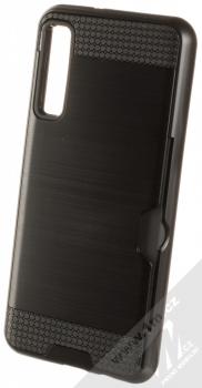 Sligo Defender Card odolný ochranný kryt s kapsičkou pro Samsung Galaxy A7 (2018) černá (black)