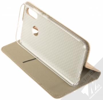 Sligo Smart Magnet flipové pouzdro pro Huawei P Smart (2019) zlatá (gold) stojánek