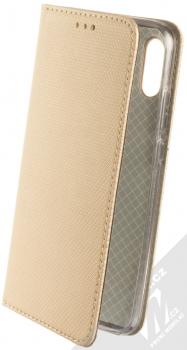 Sligo Smart Magnet flipové pouzdro pro Huawei P Smart (2019) zlatá (gold)