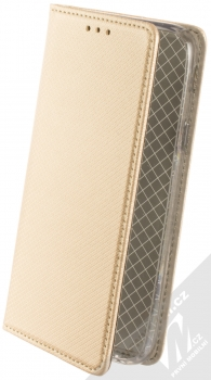 Sligo Smart Magnet flipové pouzdro pro Samsung Galaxy J3 (2017) zlatá (gold)