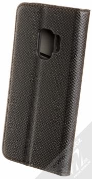 Sligo Smart Magnet flipové pouzdro pro Samsung Galaxy S9 černá (black) zezadu