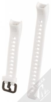 Tactical Single Color Strap silikonový pásek na zápěstí pro Huawei Band 4 bílá (white) zezadu