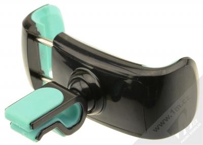 USAMS C Series Car Holder univerzální držák do mřížky ventilace v automobilu pro mobilní telefon, mobil, smartphone černo zelená (black mint) rozpětí