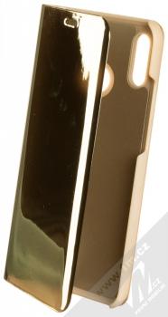 Vennus Clear View flipové pouzdro pro Huawei P20 Lite zlatá (gold)