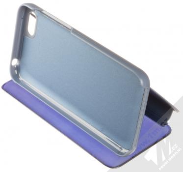 Vennus Clear View flipové pouzdro pro Huawei Y5 (2018), Honor 7S modrá (blue) stojánek