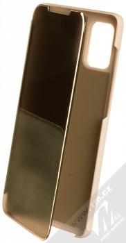 Vennus Clear View flipové pouzdro pro Samsung Galaxy A71 zlatá (gold)