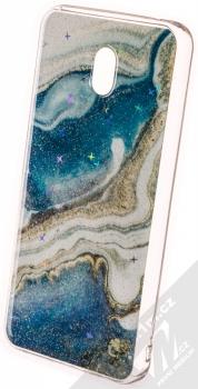 Vennus Stone Case ochranný kryt pro Xiaomi Redmi 8A modrý achát (blue agate)