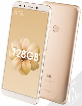 Xiaomi Mi A2 6GB/128GB Global Version CZ LTE + BLUETOOTH HEADSET STEREO SLUCHÁTKA SETTY v ceně 890Kč ZDARMA zlatá (gold)