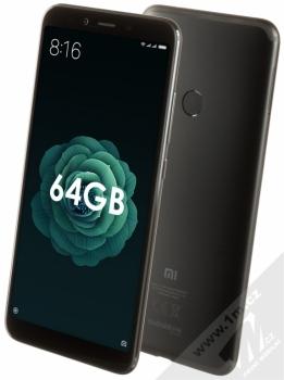 Xiaomi Mi A2 4GB/64GB Global Version CZ LTE + BLUETOOTH HEADSET STEREO SLUCHÁTKA SETTY v ceně 890Kč ZDARMA černá (black)